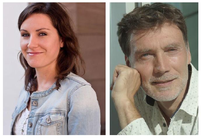 Caroline Jakubowski und Jürgen Albrecht