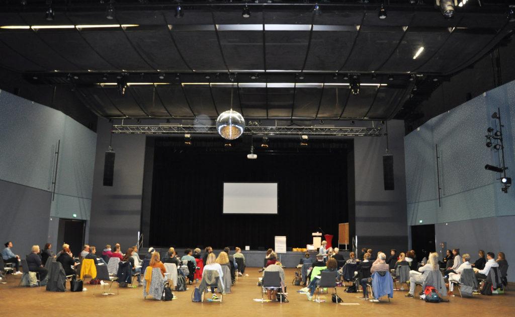 Workshop in der Troisdorfer Stadthalle